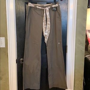 Limited career brown trousers size 4